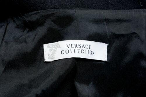 Details about  /Versace Collection Wool Cashmere Black Button Down Women/'s Jacket Sz S M L 2XL