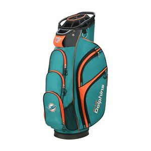 Wilson-Staff-New-NFL-Cart-Golf-Bag-Miami-Dolphins-2019