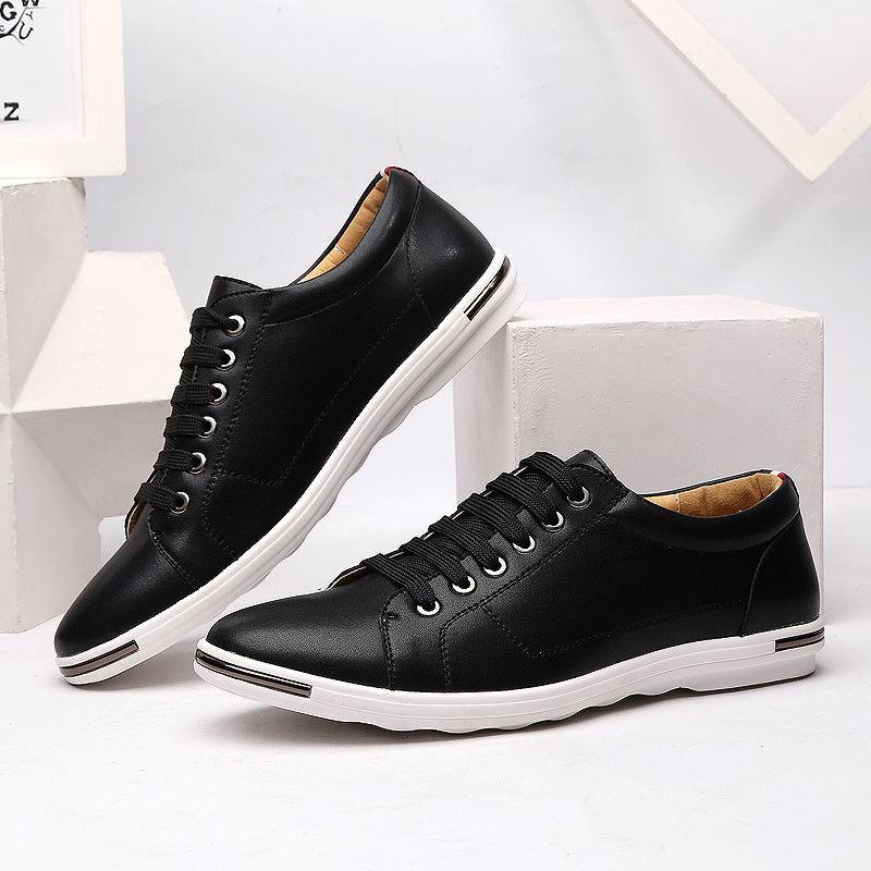 New Black Shoes Fashion Designer Sneakers Mens Shoes Zapatillas Zapatos Hombre