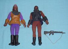 vintage Mego Planet of the Apes pota SOLDIER APE & GENERAL URKO LOT