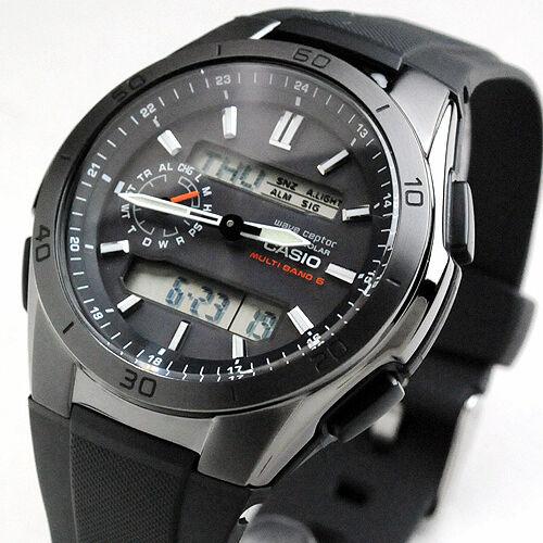 7839f0f213cb Casio Wave Ceptor Solar Multiband6 Watch Wva-m650b-1ajf Black With Tracking  for sale online