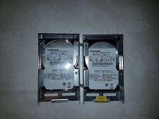 DYSK 2,5 TOSHIBA 80 GB X 2 SZT