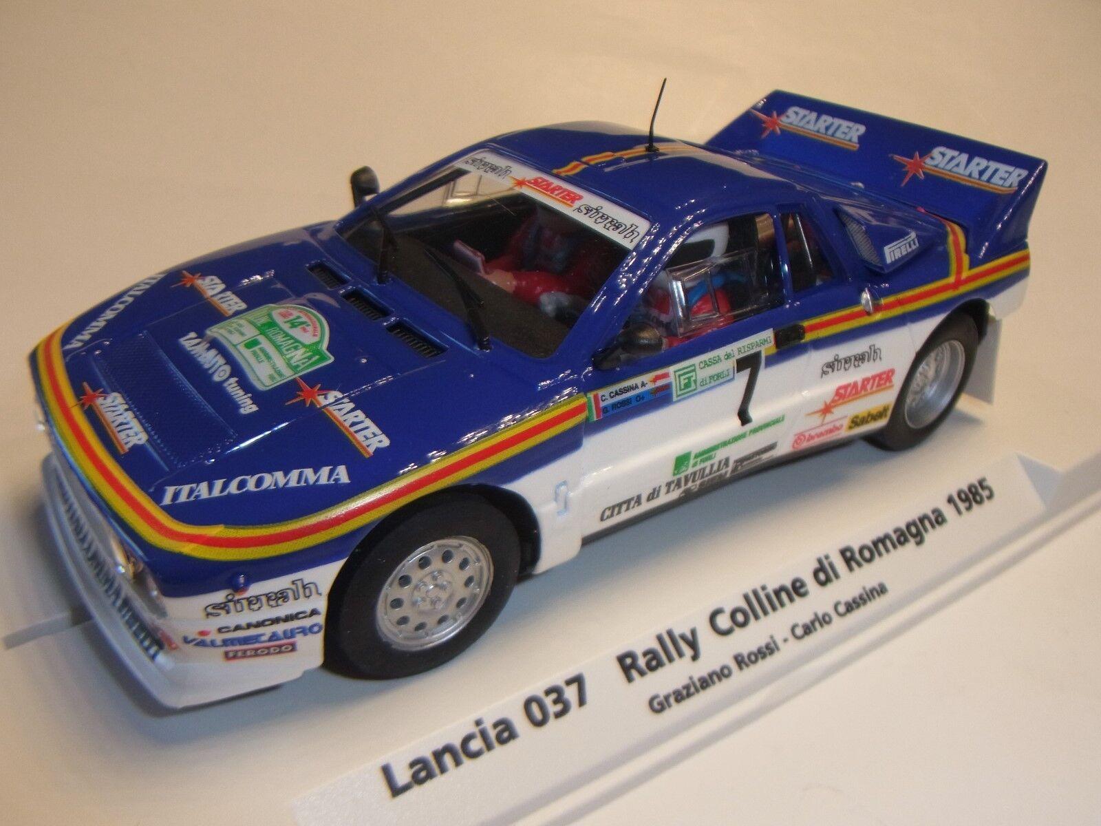FLY Lancia 037 Rally Colline di Romagna 1985 Pista per auto 1 3 2 SLOTCAR