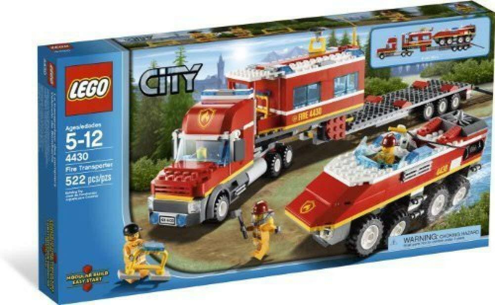 LEGO - 4430 CITY Fire Transporter NEW DAMAGE BOX