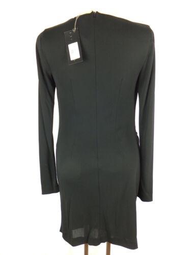 X Kleid Richmond Etikett Wickeloptik Neu 36 Mit Raffungen Schwarz dPa5qfanU