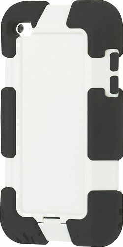 Griffin Military Rugged Hard Shell Case Cover For iPod Touch 4th Gen Black/Gray