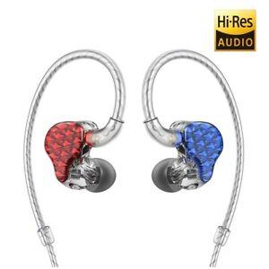 FiiO-FA7-Quad-Driver-Balanced-Armature-In-Ear-Monitors-Red-Blue-Hypoallergenic
