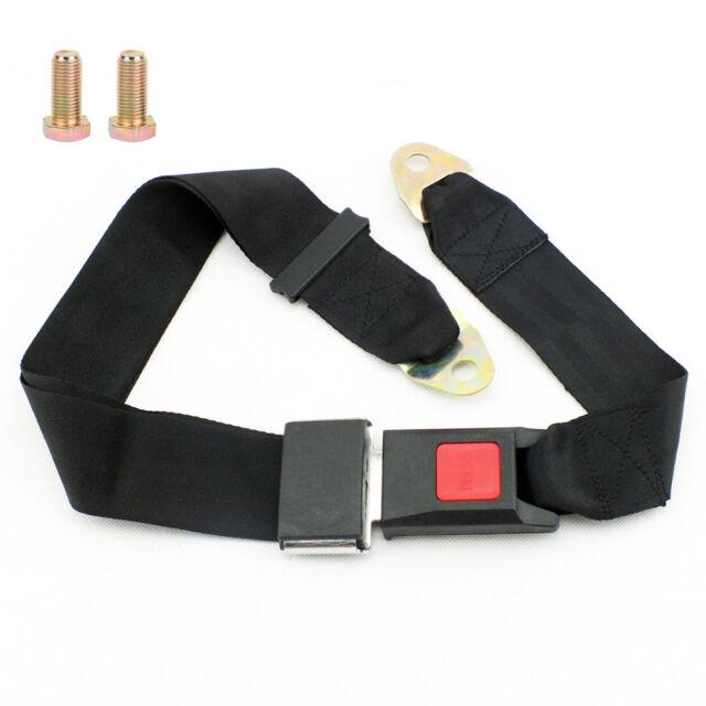 2 point Seat Saftey Belt Harness Kit Go Kart UTV Buggie Single Double V BT11