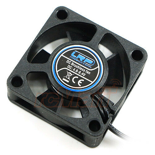 LRP 30x30x10mm 1S 2S ESC Worksteam Ventola con connettore ESC 1:10 RC auto #LRP501801