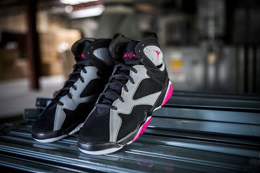 Air Jordan Retro 7 VII Retro Jordan Gg » Fucsia Flash Negro Gris fresco Lobo Gris 442960-008 3c7ccb