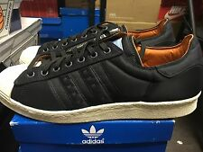ADIDAS OT SUPERSTAR 80S X HEAD PORTER JAPAN ZIPPER OG ORIGINALS SIZE 10.5 USED