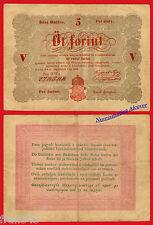 HUNGRIA HUNGARY 5 Forint 1848 Pick 116a  MBC-/ F-VF