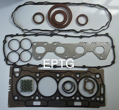 206 307 308 1007 PARTNER 1.6 16V TU5JP4 FULL ENGINE GASKET SET /& HEAD BOLT SET