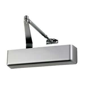 Falcon SC71A HD commercial door closer aluminum finish size 1-6 indoor outdoor