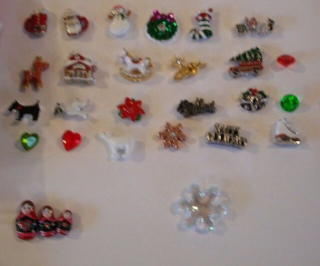 Origami Owl Charms New Le Christmas Free Shipping Buy 4 Save 2 Ebay