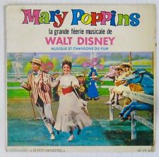 Walt Disney 45 tours Mary Poppins Chritiane Legrand