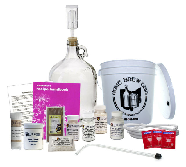 1 Gallon Vintners Best Wine Equipment Kit Wine Making Kit Wine Equipment Kit