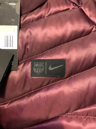 Warmerveste Fc Barca de Chaleco para Gilet Chaleco invierno M Packable 2018 hombre Barcelona Nike qfxTwa