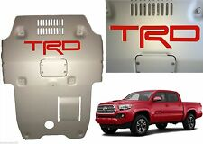 Red Premium Vinyl TRD Skid Plate Inserts For 2016-2017 Toyota Tacoma New USA
