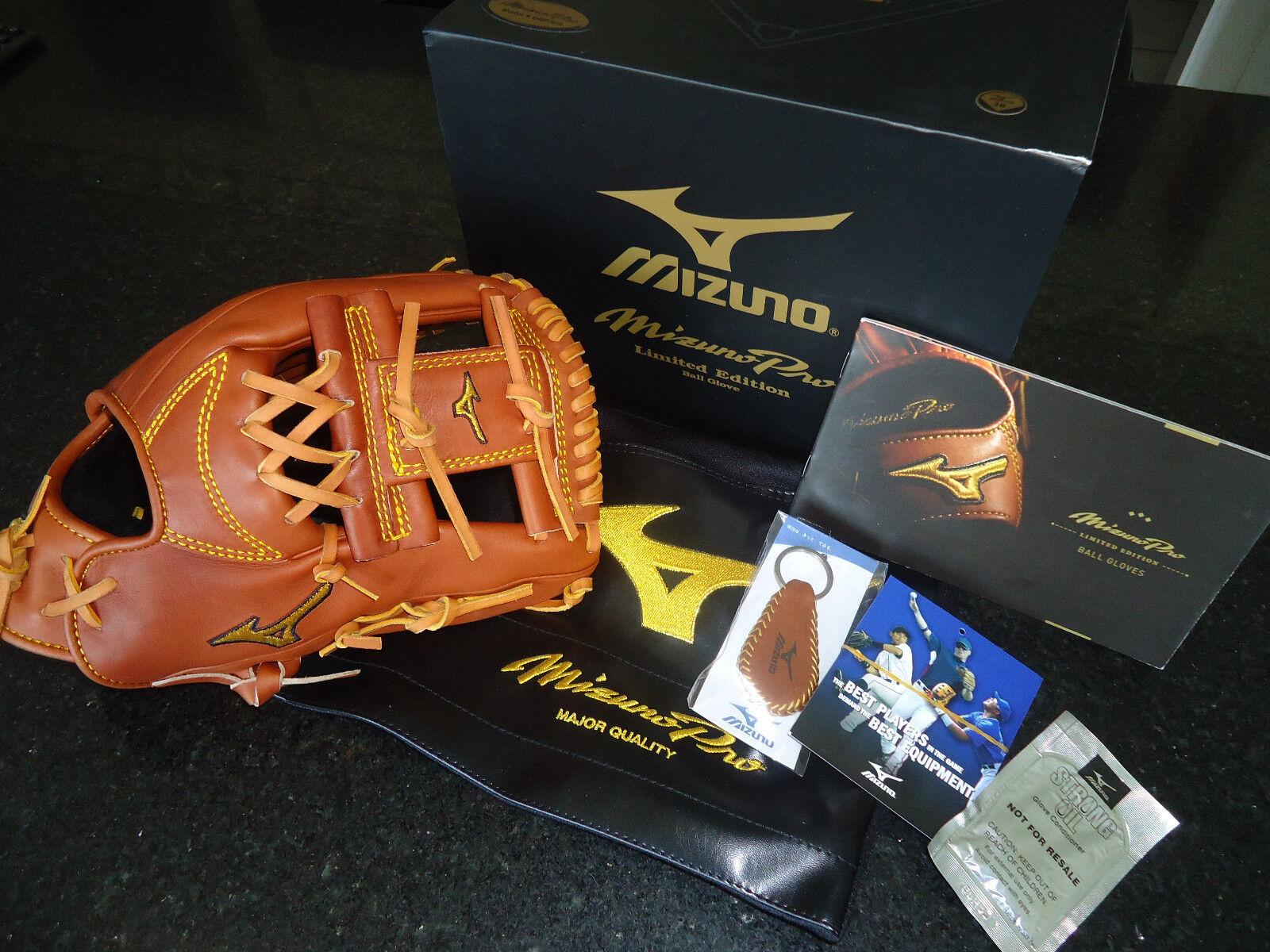 Guante de béisbol de Mizuno Pro GMP500 limitada 11.75  - mano derecha con bonos Extras -  499.99+