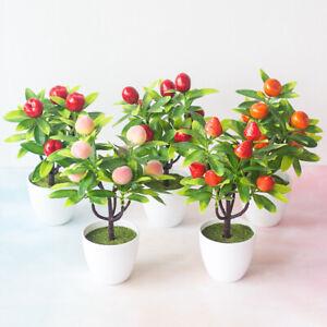Am-ALS-1Pcs-Artificial-Fruit-Tree-Fake-Garden-Plant-Miniascape-Flower-Home-Dec