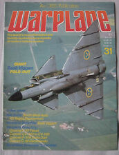 Warplane magazine Issue 31 Saab Viggen cutaway drawing & poster