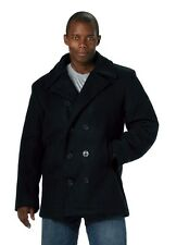 Rothco US Navy Type Pea Coat - 7472 Navy Blue 2xl | eBay