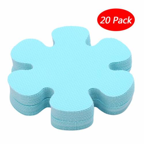 20Pcs 4 Inch Flower Safety Treads Non-Slip Applique Stickers Mat Bath Tub/&Shower