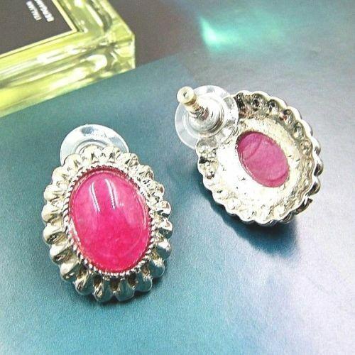 Bailysbeads hermoso 1 par rubin pendientes aretes con ohrmutter nuevo