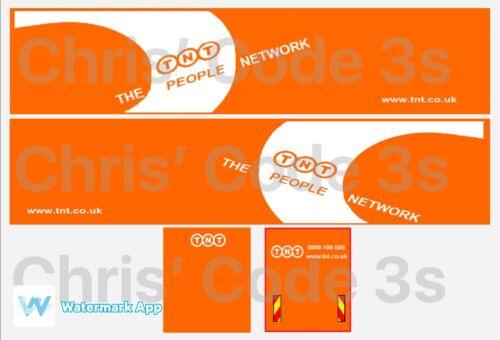 1//50 1//76 1//148 Code 3 Adhésif Vinyle remorque Decal-TNT Neuf Livrée