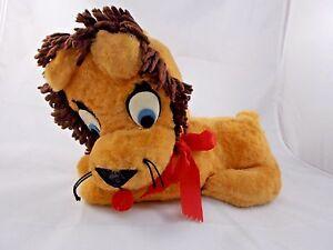 Vintage-Lion-Plush-12-034-Long-Stuffed-Animal