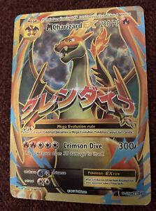 Pokemon mega charizard ex 101/108 Ultra Rare Card Very Good Cond