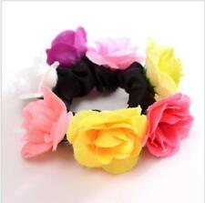 item 1 Stylish Women Girl Rose Flower Hair Band Rope Elastic Ponytail  Holder Scrunchie -Stylish Women Girl Rose Flower Hair Band Rope Elastic  Ponytail ... 64a7372b34b5