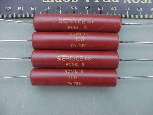 Résistance Marquage Sfernice K3 RCML 8 10 Ohms 1/% 78N