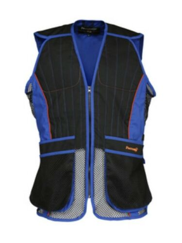 Percussion Skeet//Clay Shooting Vest In Black and Blue