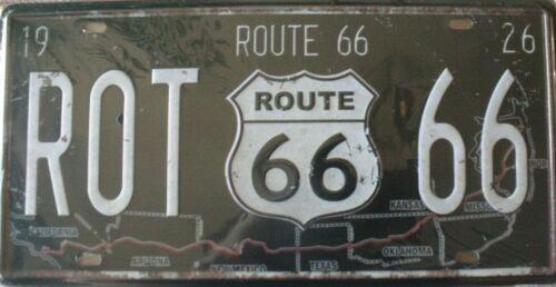 Metal Americana Car Signs Plaque Vintage Man Cave Mancave Retro Number Plate Bar