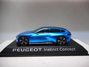1 43 Norev Peugeot Instinct Concept Car Salon Geneve 2017