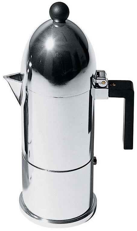 scelte con prezzo basso La Cupola caffettiera espresso in Alluminio Alluminio Alluminio  Alessi - 3 tazze  forniamo il meglio