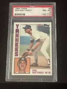 DON-MATTINGLY-1984-TOPPS-8-PSA-8-NM-MT-RC-ROOKIE-NEW-YORK-YANKEES
