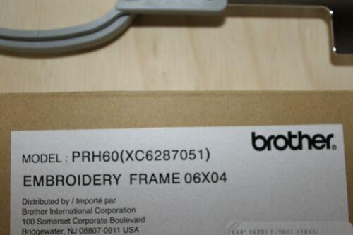 XC6287071 Model PRH60 NIB - 60mm x 40mm Genuine Brother Embroidery Hoop