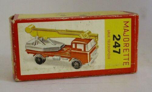 Repro Box Majorette Nr.247 Grue Telescopique