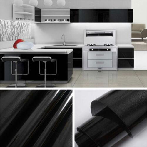 3M Roll Kitchen Cabinet Refacing Film High Gloss Vinyl Self Adhesive Wallpaper