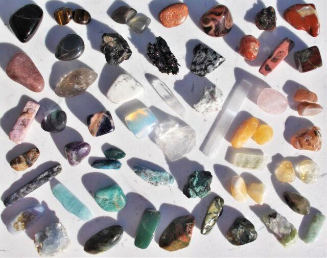 Reiki Mineral Gemstone Chip Bracelet Malachite Crystal Healing Chakra,