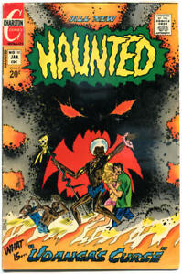 HAUNTED-10-VG-Voodoo-Curse-Horror-1971-1973-more-Charlton-in-store