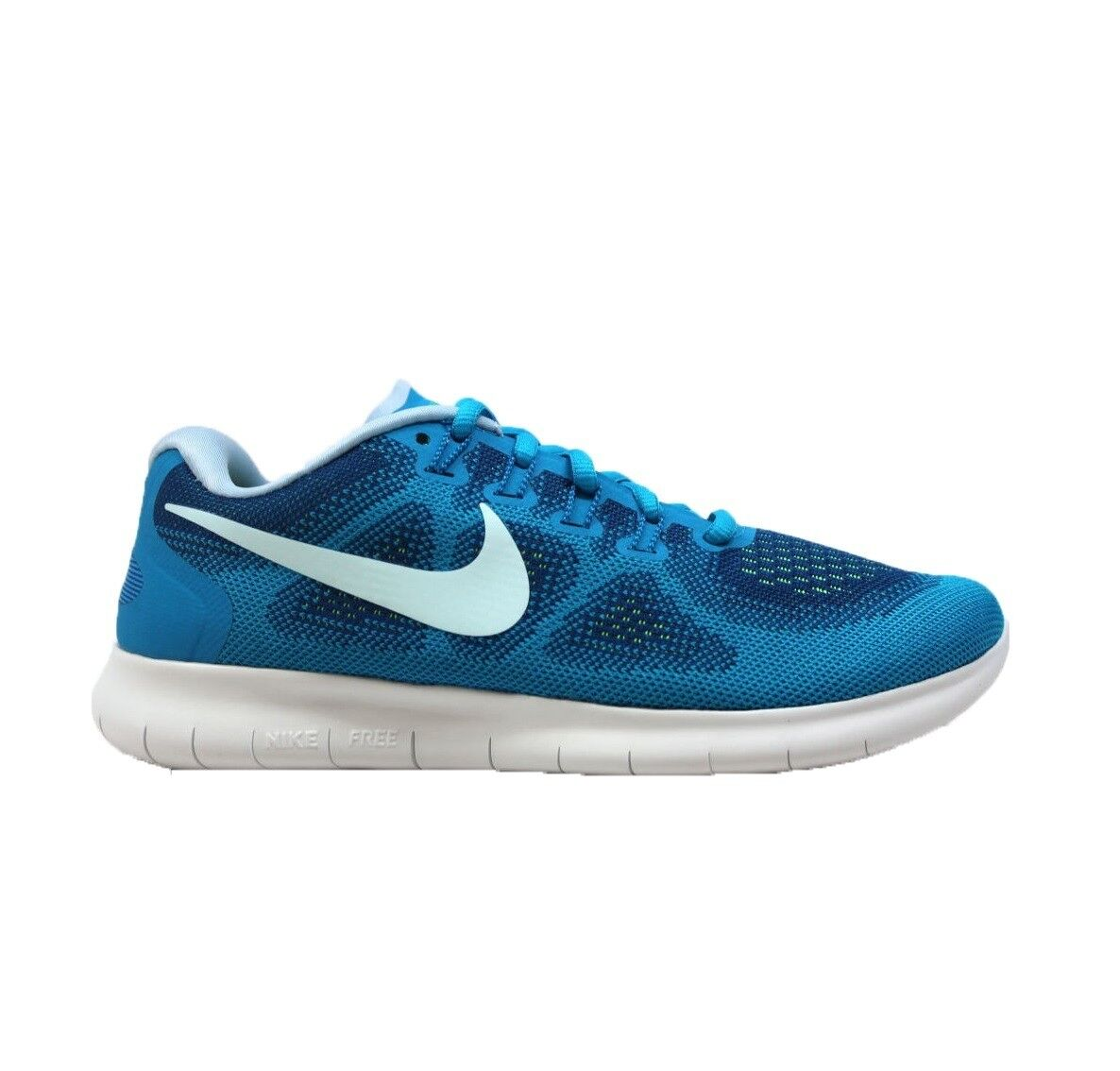 Nike Nike Free Run 2017 Femme Gym Bleu Running Trainer chaussures Taille 5 5.5 6 7 NEUF
