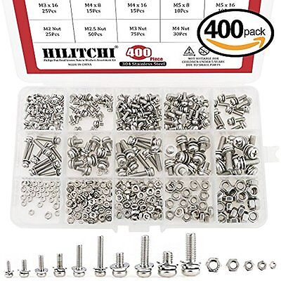 50-Piece Hard-to-Find Fastener 014973192631 Stainless Phillips Tapcon 1//4 x 1-1//4-Inch