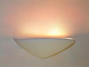 Applique da parete lampada ceramica stile per led luci