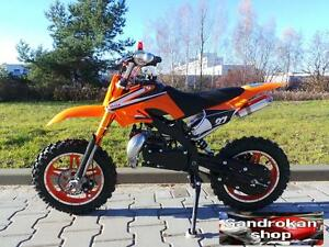 Minimoto Cross Natale SDK AMY SKM 49cc pit bike 2 tempi orange