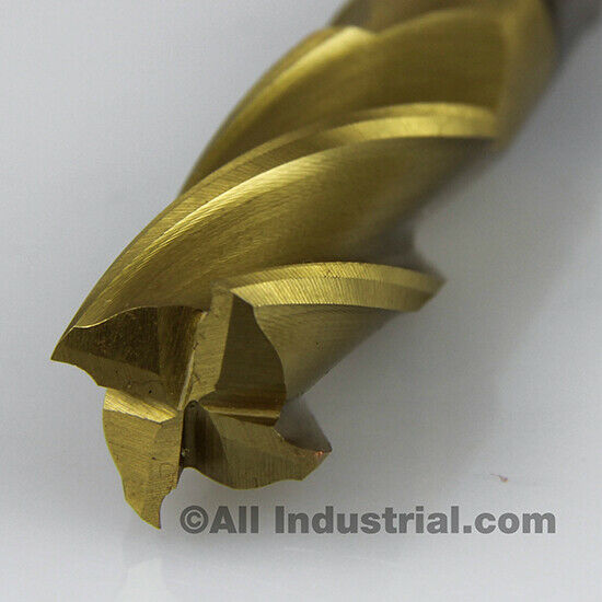 """HSS grounded from sold 3//4/""""x3//4/"""" 4 Flutes center cutting End mill"""