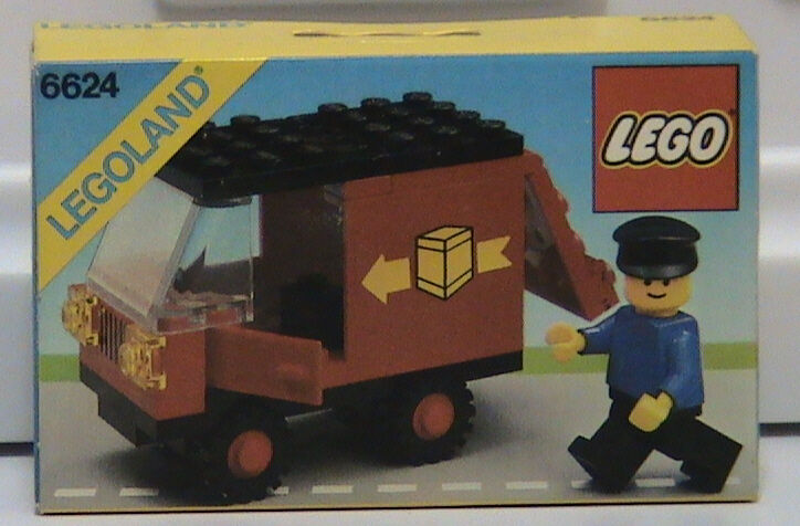 LEGO Classic Town CARGO  6624 Delivery Van  Nuovo Sealed - 1983' LEGOLAND